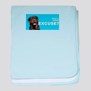 What's Your Excuse? baby blanket