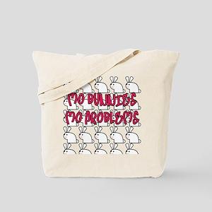 Mo Bunnies Mo Problems Tote Bag