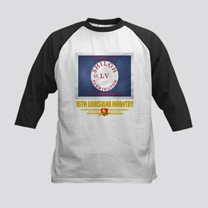 16th Louisiana Infantry Kids Baseball Jersey