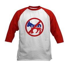 Anti-Democrat Kids Baseball Jersey