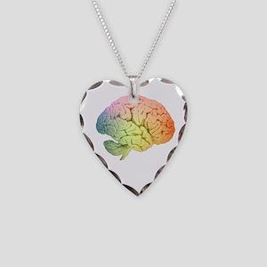 Celebrate Neurodiversity Necklace Heart Charm