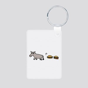 Assburgers Aluminum Photo Keychain