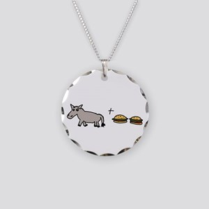 Assburgers Necklace Circle Charm