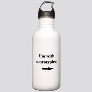 I'm With Neurotypical Stainless Water Bottle 1.0L