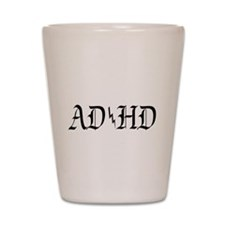 ADHD Shot Glass