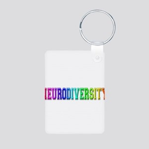 Neurodiversity University Aluminum Photo Keychain