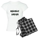 Autistic Genius Grunge Women's Light Pajamas