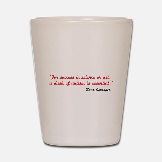 Hans Aspergers Shot Glass