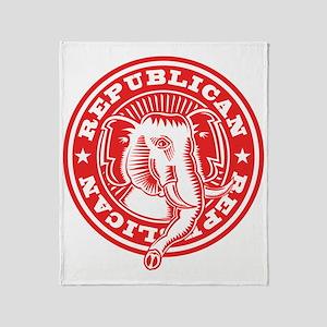 Elephant Seal Throw Blanket