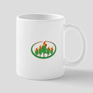 Burning Trees Mug