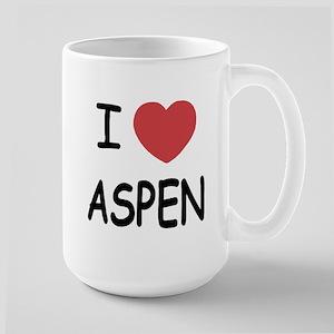 I heart Aspen Large Mug