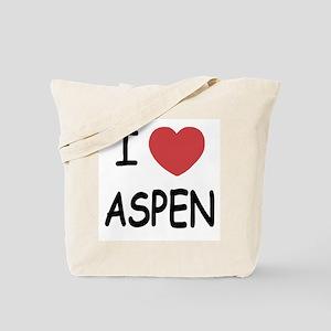 I heart Aspen Tote Bag