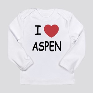 I heart Aspen Long Sleeve Infant T-Shirt