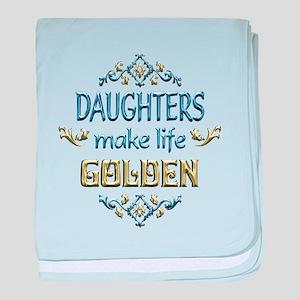 Daughter Sentiments baby blanket