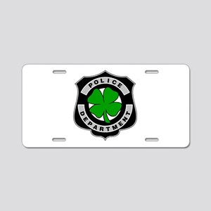 Irish Police Officers Aluminum License Plate