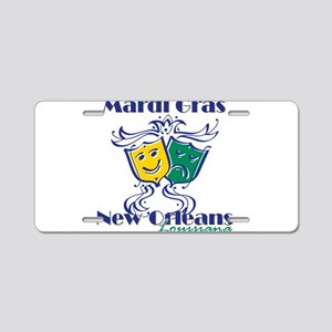 MG NOLA Fancy Mk Aluminum License Plate