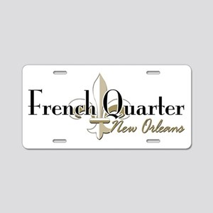 French Quarter NO Aluminum License Plate