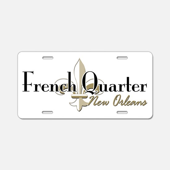French Quarter New Orleans Aluminum License Plate