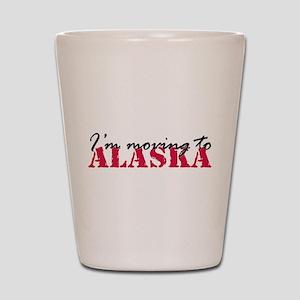 Moving to Alaska 2 Shot Glass