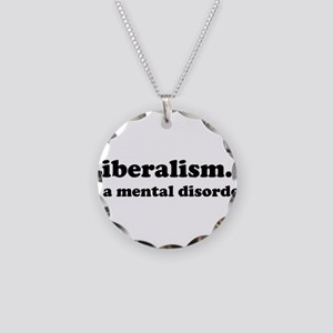 Liberalism Necklace Circle Charm