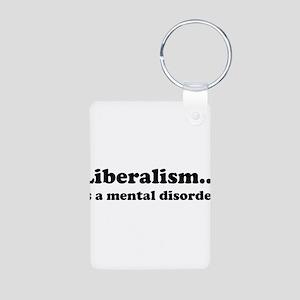 Liberalism Aluminum Photo Keychain