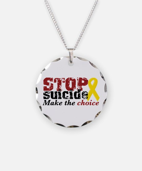 Cute Suicide prevention Necklace