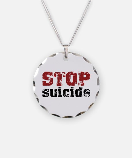 STOP Suicide Necklace
