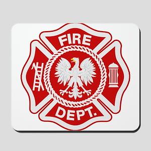 Polish Firemen Mousepad