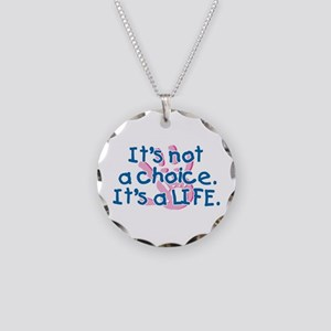 It's a LIFE Necklace Circle Charm