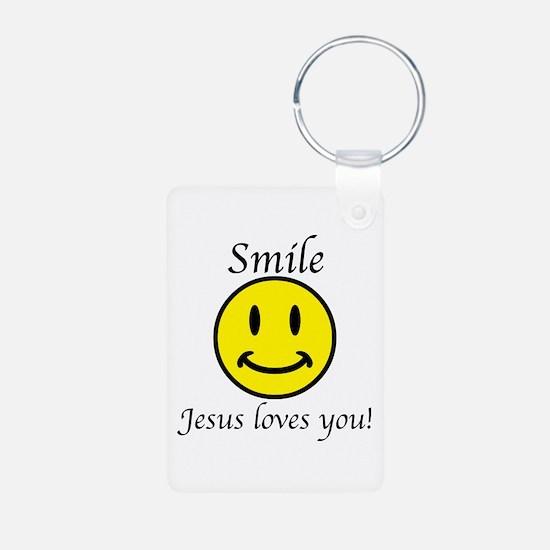 Smile Jesus Keychains Keychains