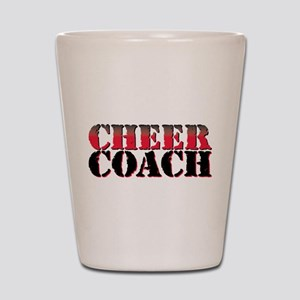 Cheer Coach Shot Glass