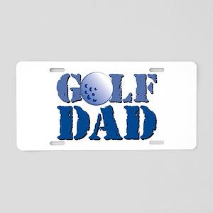 Golf Dad Aluminum License Plate