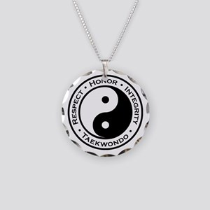 Respect Honor Integrity Tkd Necklace Circle Charm