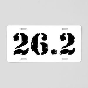 26.2 - Marathon Aluminum License Plate