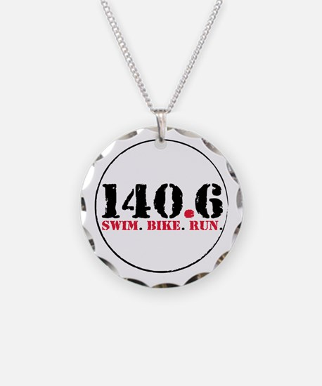 140.6 Swim Bike Run Necklace