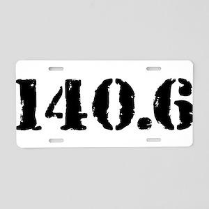 140.6 Aluminum License Plate