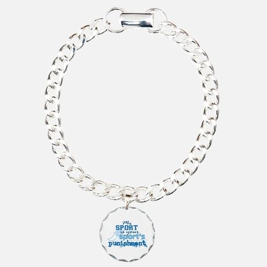 Sport Punishment blue Bracelet
