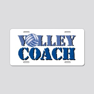 Volley Coach Aluminum License Plate