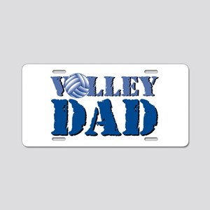Volley Dad Aluminum License Plate