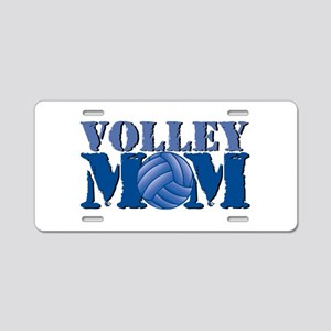 Volley Mom Aluminum License Plate