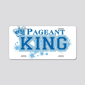 Pageant King Aluminum License Plate