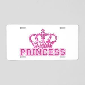 Crown Princess Aluminum License Plate