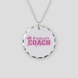 Pageant Coach Necklace Circle Charm