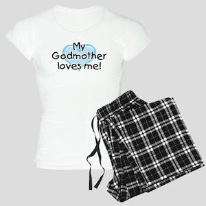 My Godmother loves me bl Women's Light Pajamas