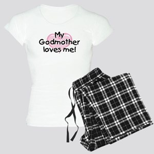 My Godmother loves me pk Women's Light Pajamas