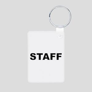 Staff Aluminum Photo Keychain