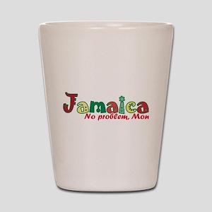 Jamaica No Problem Shot Glass