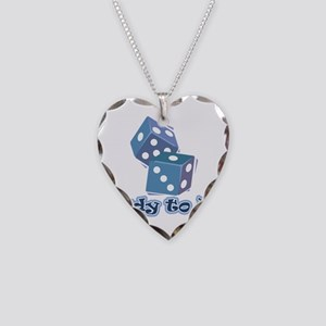 Ready to Roll Necklace Heart Charm
