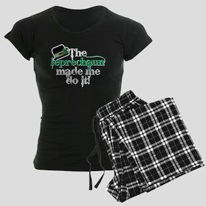 Leprechaun made me hat Women's Dark Pajamas