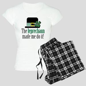 Leprechaun made me Women's Light Pajamas